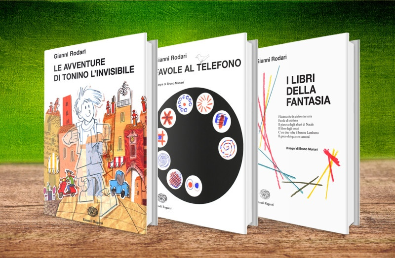 Einaudi Ragazzi – Collana: La biblioteca di Gianni Rodari