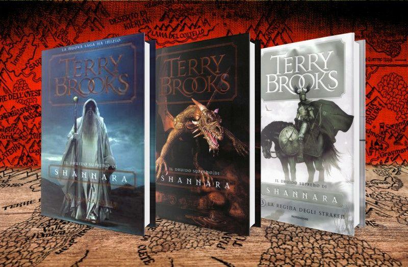Mondadori Libri – Collana: Omnibus – Autore: Terry Brooks – Trilogia Il druido supremo di Shannara