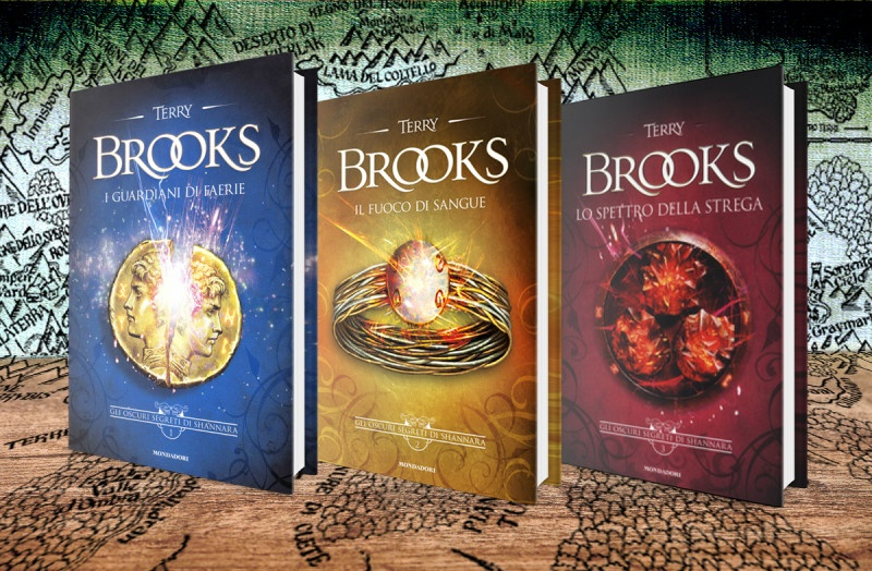 Mondadori Libri – Collana: Omnibus – Autore: Terry Brooks – Trilogia Gli oscuri segreti di Shannara