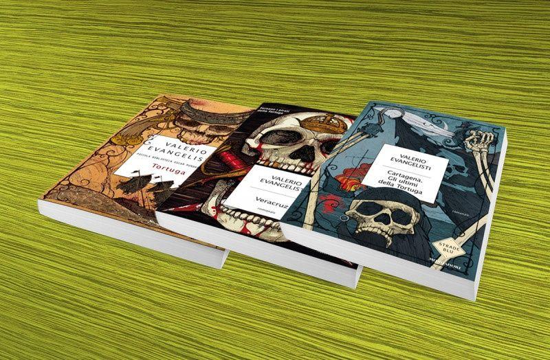 Mondadori Libri – Collana: Strade blu – Autore: Valerio Evangelisti – Ciclo dei Pirati