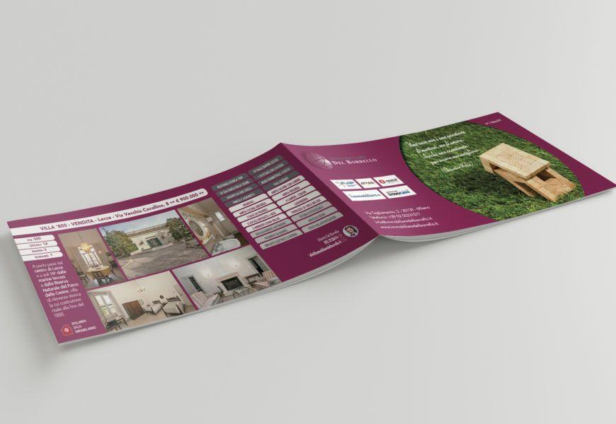 Brochure punto metallico – Immobiliare