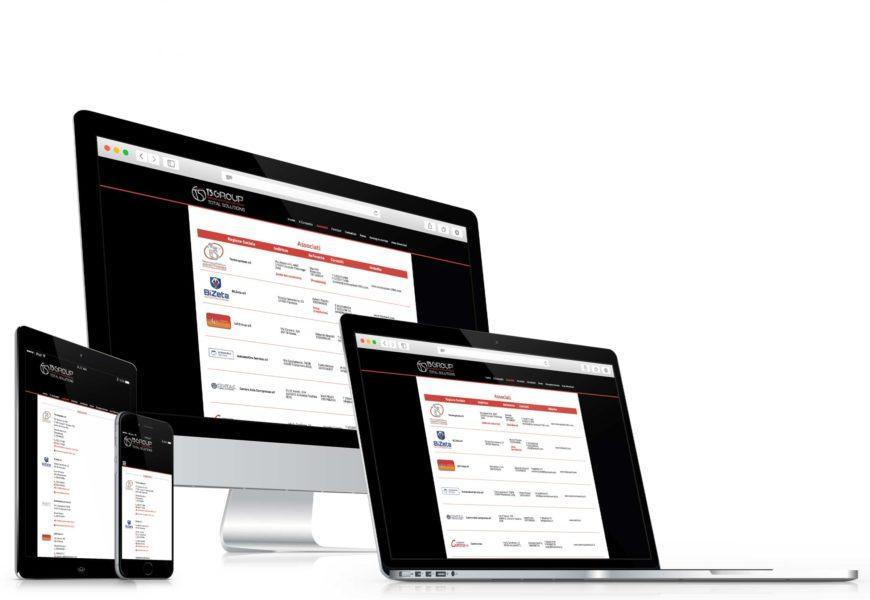 Consorzio TS Group – Sito web