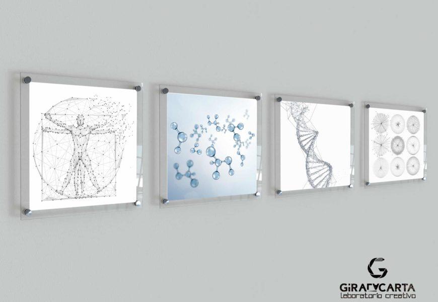 Anatek Health – Quadri in plexiglas