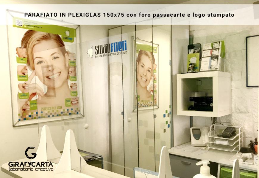 Studio Frieri – Parafiato 150×70 cm con logo stampato
