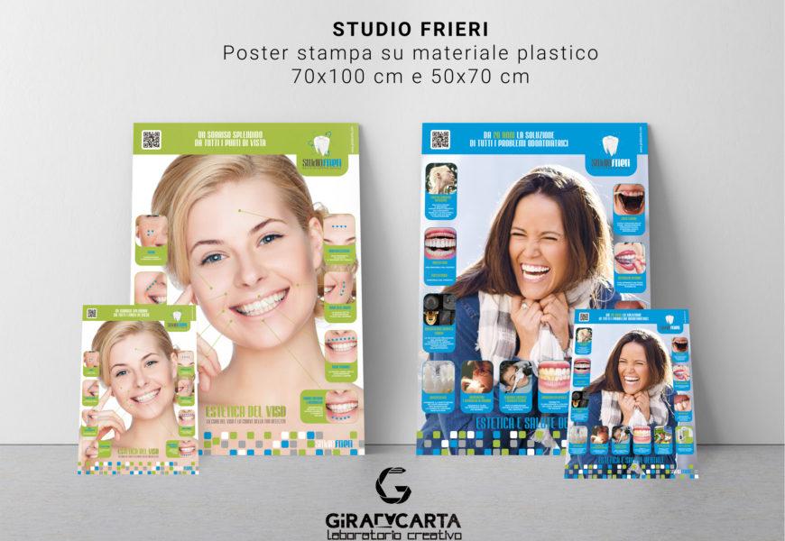 Studio Frieri – Poster stampa diretta su materiale plastico
