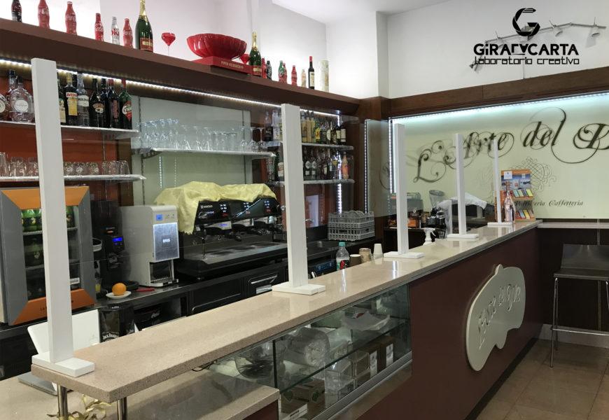 L'arte del dolce – Covid-19 barriere parafiato